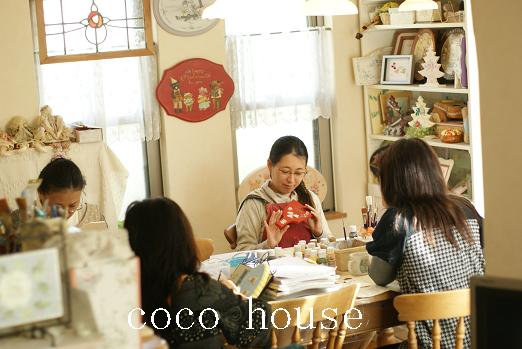市川市本八幡のトールペイント教室 coco house